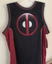 Deadpool Logo Jersey Marvel Comics Tee Shirt Small Size 34-36 Movie Dead Pool