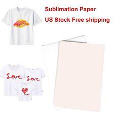 Sublimation Transfer Paper Sublimation Printing Paper 110 Sheets A4 T Shirt Mug