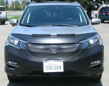 Colgan Front End Mask Bra 2pc.Fits Honda CRV LX,EX,EX-L 2017-2019 w/o License