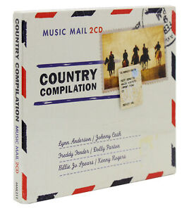 Country Compilation. Music Mail [Slip Case 2 cd] [Johnny Cash, Lynn Anderson]