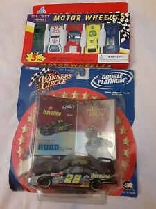 "NASCAR WINNER'S CIRCLE ""The Muppet Show"" RICKY RUDD # 28 DOUBLE PLATINUM  + MORE"