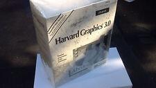 "HARVARD GRAPHICS 3.0 Windows DOS IBM PC 3.5"" Floppy Disk EARLY Version sealed"