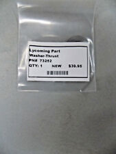 New Lycoming P/N 73252 Washer - Thrust