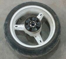 2000 Suzuki GSX-R 750 Rear Wheel Rim Tire White an1