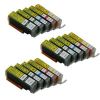 15x Ink Cartridge PGI 450 CLI 451 Compatible For Canon Pixma Ip7240 MX924 IX6540