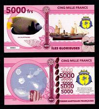 ILES GLORIEUSES ● TAAF / COLONIE ● BILLET POLYMER 5000 FRANCS ★ N.SERIE 000001
