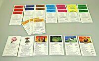 MONOPOLY Duel Masters Sammlerausgabe Ersatzteile 28 Besitzerrechtskarten kompl.