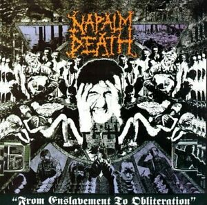 Napalm Death From Enslavement to Obliteration CD