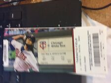 2016 MINNESOTA TWINS VS WHITE SOX TICKET STUB 9/3 BYRON BUXTON HR #5 SANO HR #39