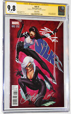 🔥SILK #3 CAMPBELL RUFFINO VARIANT EDITION CGC 9.8 SS 2X BY STAN LEE & CAMPBELL