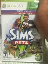 Brand New!!! The Sims 3: Pets Limited Edition (Xbox 360, 2011) Factory Sealed!!!