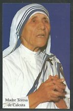 Estampa de la Madre Teresa de Calcuta andachtsbild santino holy card santini
