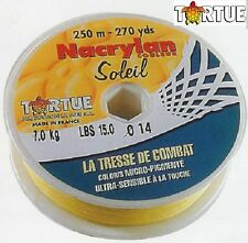 Tresse Tortue Nacrylan 0.30mm 21.000kg 250m soleil