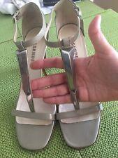 Glamours Elegant Jil Sander Ladies Sandals, Size 37.5, Italy