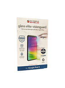 ZAGG InvisibleShield Screen Protector for Pixel 4 Glass Elite VisionGuard -