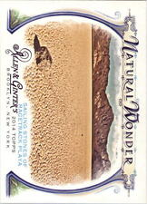 2014 Topps Allen and Ginter Natural Wonders #NW12 Sailing Stones Racetrack Playa
