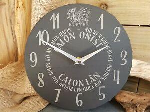 Calon Lan Slate Clock