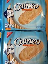 Lot of (2) Nabisco Cameo Creme Cookies 14.5oz - Puerto Rico - (US Free Ship.)