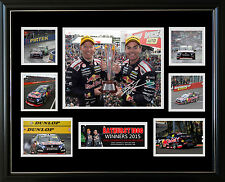2015 BATHURST WINNERS CRAIG LOWNDES SIGNED LIMITED EDITION FRAMED MEMORABILIA