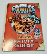Skylanders Giants Master Eon's Official Guide Book Like New Video Games
