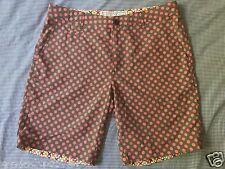 THE ROCKS PUSH Swim Shorts BNWOT Mens size 40 (106cm)Blueys red polkadot pattern