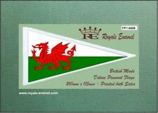 Royale Scooter Antenna Pennant Flag DRAGON NATIONAL FLAG OF WALES FP1.0408