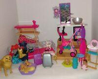 Barbie Lot w/ furniture, clothes, Accessories, Furniture, Pets & baby no Barbie