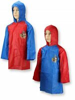 Boys Paw Patrol Hooded Raincoat 2 years to 6 years Red Blue
