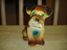 Antique Chalkware Dog-Lovely Old Dog-Dog Bank-Nice Chalkware Dog-Look