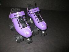 Girls Size 3 Riedell R3 Quad Roller Derby Roller Skates
