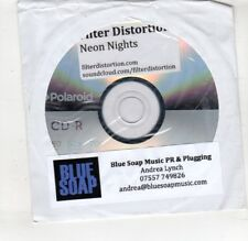 (HS905) Filter Distortion, Neon Nights - DJ CD