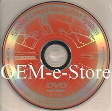 2004 2005 2006 Acura TL Sedan Navigation Orange DVD Map U.S Canada Version 3.80