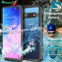 Waterproof Case For Samsung Galaxy Note 10 S10 Plus Shockproof Dirtproof Cover