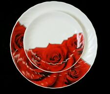 50 Pcs Fine bone china Dinner set 10 place setting.