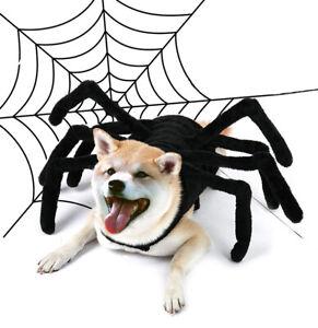 Funny Fancy Dress Up Halloween Pet Dog Cat Costume Funny Big Spider New
