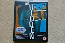 BLU-RAY THE HIDDEN    PREMIUM EXCLUSIVE EDITION NEW UK STOCK