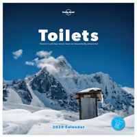 2020 Toilets: Nature's call has never been so beautifully answered Wall Calendar
