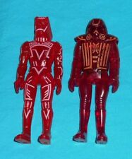 vintage Tomy Tron Warrior & Sark lot action figures
