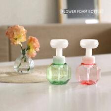 300ml Liquid Soap Dispenser Flower Shape Foam Foaming Pump Empty Bottle PlasFCA