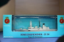 HMS DEFENDER D 36 Type 45 Destroyer individually BOXED Triang Minic