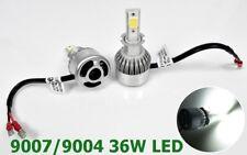 9007 9004 Bulbs Headlights Hi-Low Beam 36WX2 LED High Power COB 6000K White M1 M