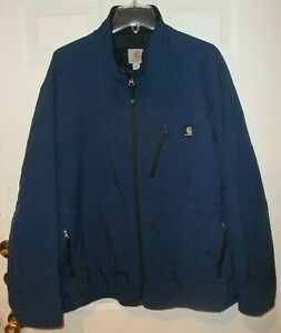 Carhartt J250 DCB Blue Soft Shell Jacket 2XL