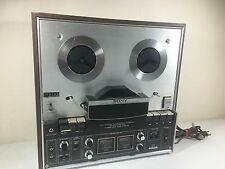 Sony TC-440 Reel To Reel AS IS FOR PARTS NOT WORKING