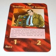 Trading Card Games Illuminati PROMO Card Steve Jackson Games New World Order TCG