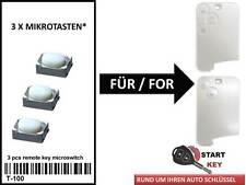 Renault Espace 4 Laguna 2 VelSatis Schlüssel Karte Tasten Button Switch cle key