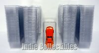 HOT WHEELS MATCHBOX BLISTER CASE LOT 100 Cars Truck Protective Clamshell X-SMALL