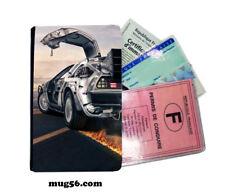 retour vers le futur 01-009 étui pochette carte grise carte d'identité permis