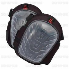 PROFESSIONAL HEAVY DUTY GEL KNEE PAD PADS KNEEPADS TWIN STRAP LARGE CUP ONE SIZE
