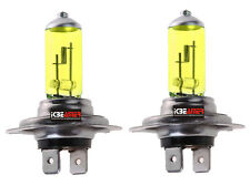H7 100W Super Yellow Xenon Halogen Headlight Fog Light High Low Beam Bulbs I260