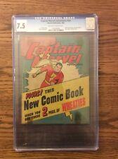 Captain Marvel Adventures Wheaties Promo NN CGC 7.5 Fawcett Publications 1945